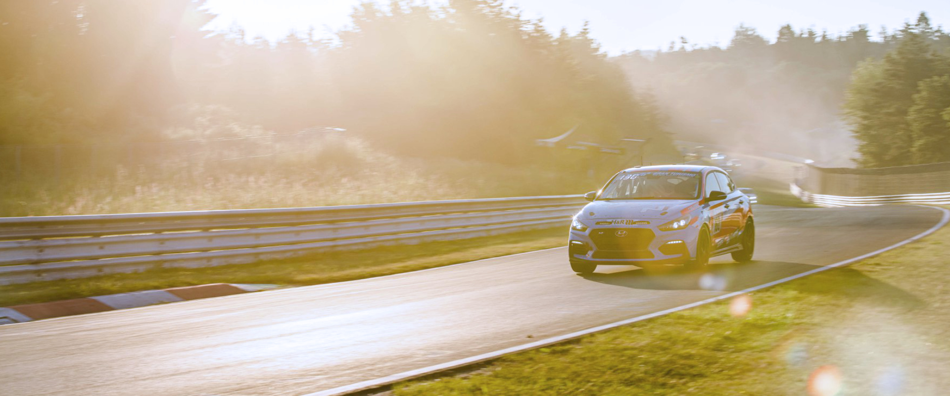 TAROX equipped i30 N competing in Nurburgring 24h