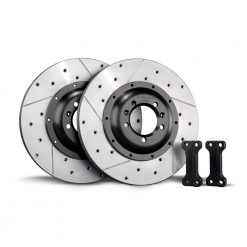 TAROX Brake Kit – Audi A4 (B6) All models with 255mm disc – Rear Disc Upgrade – KMAU1171