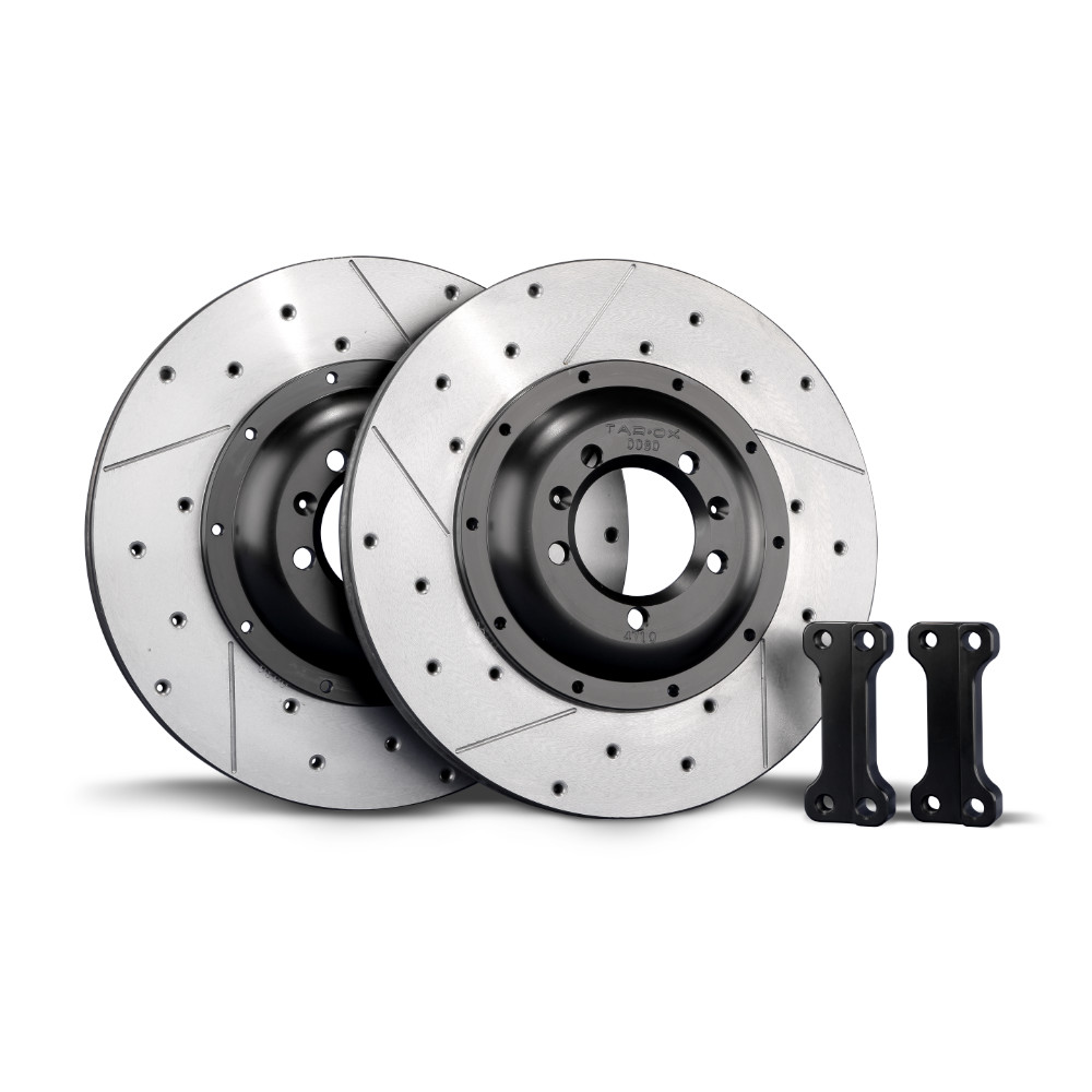 TAROX Brake Kit – Volkswagen Golf Mk4 Cars with vented rear discs – Rear Disc Upgrade – KMAU0308