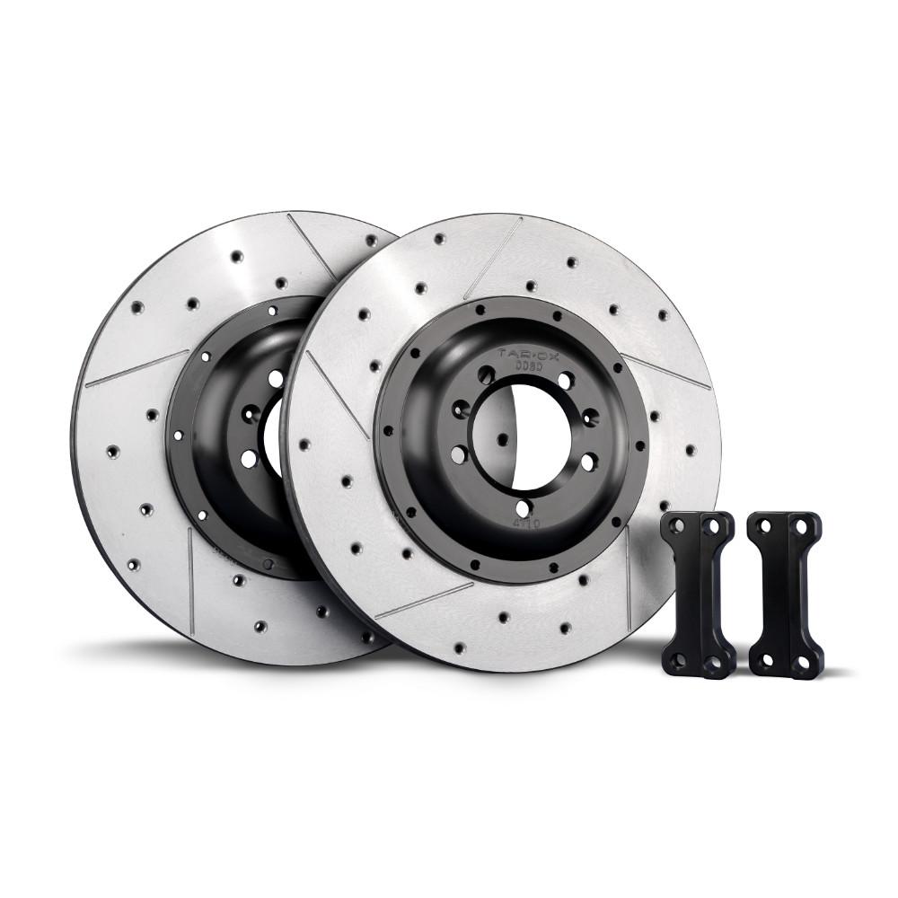 TAROX Brake Kit – Alfa Romeo 147 1.9 JTD – 2.0TS – Rear Disc Upgrade – KMAR0267