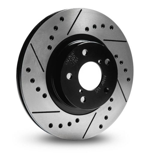 Rear TAROX Brake Discs - Ford Fiesta Mk7 - Sport Japan