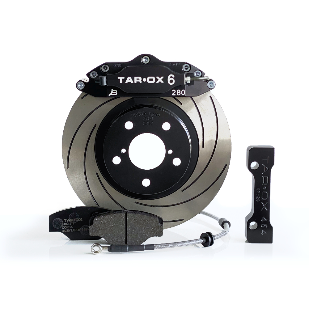 TAROX Brake Kit – Abarth 500 1.4 Turbo (incl Esseesse) – Sport Compact – KMFI0900